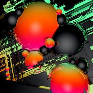 Превью обои шары, объем, форма, глянцевый