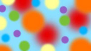 Превью обои шары, спектр, цвет, диффузия