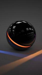 Превью обои шары, свет, стекло, неон