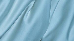 Превью обои шелк, ткань, складки, текстура, голубой