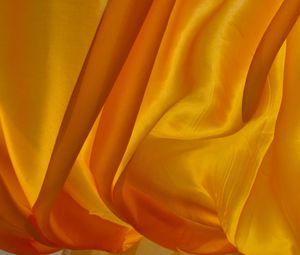 Превью обои шелк, ткань, складки, желтый