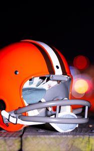 Превью обои шлем, защита, регби, спорт