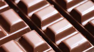 Превью обои шоколад, дольки, десерт