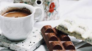 Превью обои шоколад, кофе, чайник