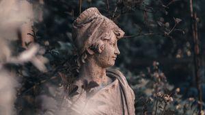 Превью обои скульптура, статуя, бюст