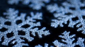 Превью обои снежинки, новый год, рождество, зима