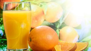 Превью обои сок, апельсины, фреш