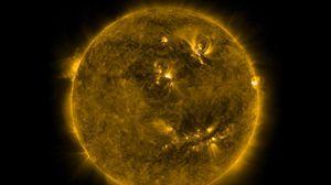 Превью обои солнце, энергия, свет, излучение, космос