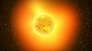 Превью обои солнце, солнечная система, излучение, космос