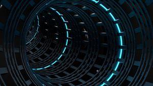 Превью обои спираль, круги, погружение, подсветка, орнамент
