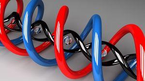 Превью обои спираль, яркий, светлый, шары
