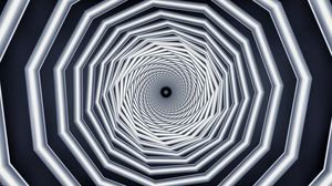 Превью обои спираль, закрученный, перспектива, геометрия, фрактал