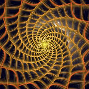 Превью обои спираль, закрученный, запутанный, фрактал, абстракция