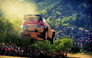 Превью обои спорт, гонка, ралли, ford, abu-dhabi, форд, sport, rally