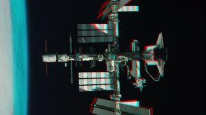 Превью обои спутник, орбита, космос