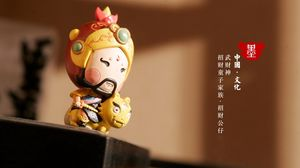 Превью обои статуэтка, китай, иероглифы