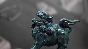 Превью обои статуэтка, существо, традиция, божество