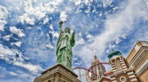 Превью обои статуя свободы, нью-йорк, соединенные штаты америки, hdr