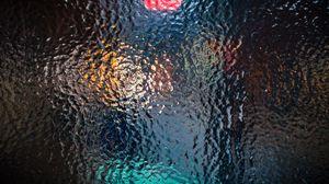 Превью обои стекло, рельефный, поверхность, блики