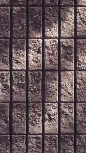 Превью обои стена, бетон, полосы, шершавый, текстура
