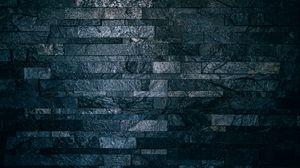 Превью обои стена, кирпичи, плитка, темный, ребристый