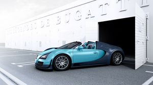 Превью обои supercar, бугатти, grand sport, vitesse, bugatti veyron