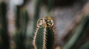 Превью обои свадьба, любовь, кольца