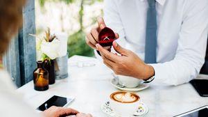 Превью обои свадьба, любовь, романтика, кольцо
