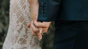 Превью обои свадьба, руки, любовь, прикосновение, семья