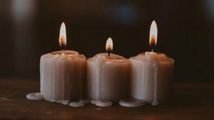 Превью обои свечи, пламя, воск, огонь, уют