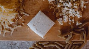 Превью обои сыр, макароны, кулинария, эстетика