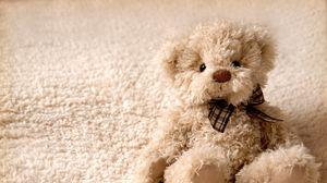 Превью обои teddy bear, игрушка, мишка, плюшевый