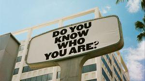 Превью обои текст, вопрос, фраза, смысл, билборд