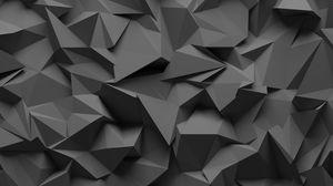 Превью обои текстура, рельеф, 3d, серый, поверхность