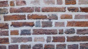 Превью обои текстура, стена, кирпичный