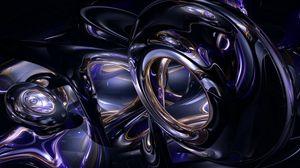Превью обои тень, темный, отражение, структура