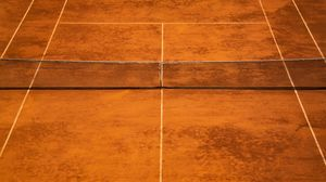 Превью обои теннис, стадион, разметка, спорт