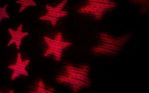 Превью обои ткань, тень, звезды, текстура