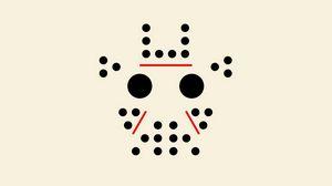 Превью обои точки, круги, линий, узор, минимализм, маска, jason, стиль