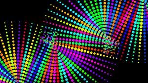 Превью обои точки, круги, пятна, разноцветный