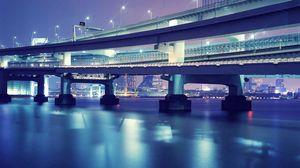 Превью обои токио, мост, красиво