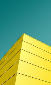 Превью обои угол, архитектура, фасад, минимализм