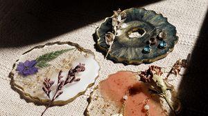 Превью обои украшения, керамика, цветы, декор, творчество