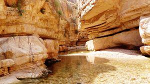 Превью обои ущелье, скалы, природа