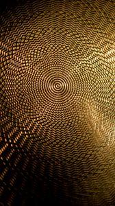 Превью обои узор, круги, поверхность, золото, текстура