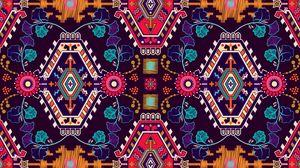 Превью обои узор, орнамент, мотив, разноцветный, текстура