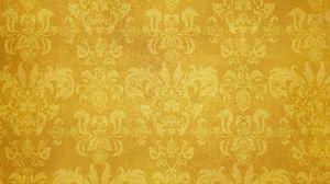 Превью обои узор, орнамент, текстура, коричневый