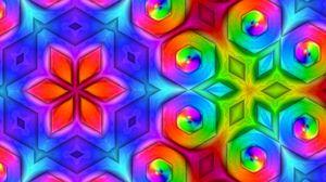 Превью обои узор, разноцветный, орнамент, яркий, насыщенный