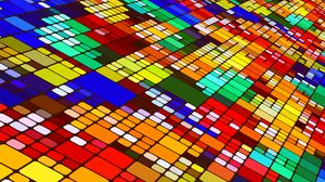 Превью обои узор, цветной, мозаика, наискось, структура, абстракция