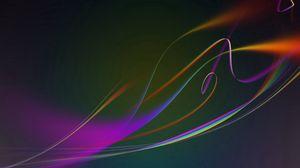 Превью обои узоры, разноцветный, фон, линии